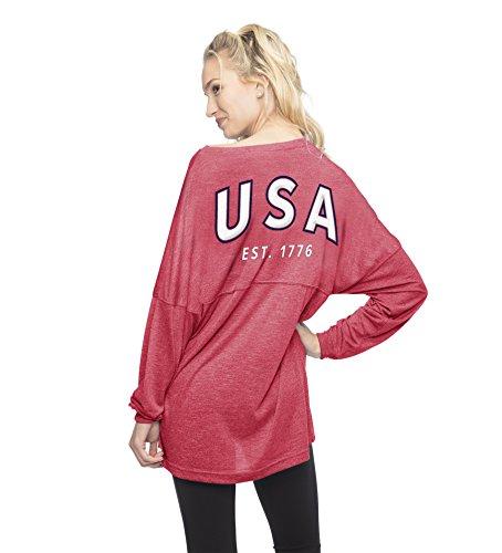 Varsity Jersey Pullover Long-Sleeve Tee (Small) ()
