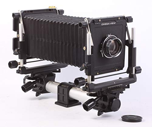 Toyo Omega 45E 4X5 View Camera with 210MM F 5.6 Lens, CASE & Dark - Camera Toyo Lens