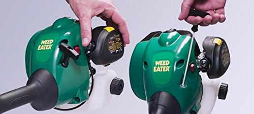 how to start a weed eater with a drill