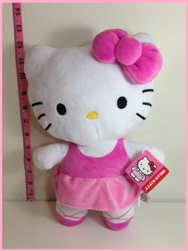 - Brand New Hello Kitty Ballerina with Bow Licensed Plush 12