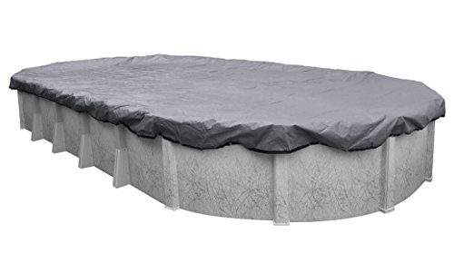 Pool Mate 521530-4 Extreme-Mesh Winter Oval Above-Ground Pool Cover, 15 x 30-ft, 7. XL Silver