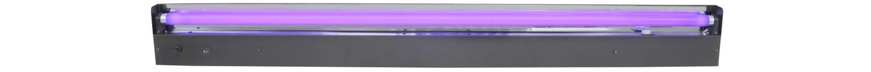 color negro QTX//–/Light Box con tubo UV, 15/W, 450/mm