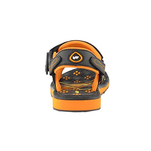 Gold Pigeon Shoes GP9149 Durable Outdoor Water Sports Sandal With Easy Snap Lock Closure For Men Women Kids 7684 Navy Orange yaqvxoPX5A