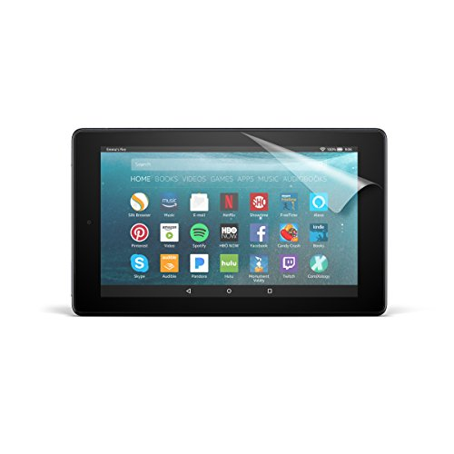 NuPro Clear Screen Protector for Amazon Fire 7 Tablet (7th Generation - 2017 release) (2-Pack)