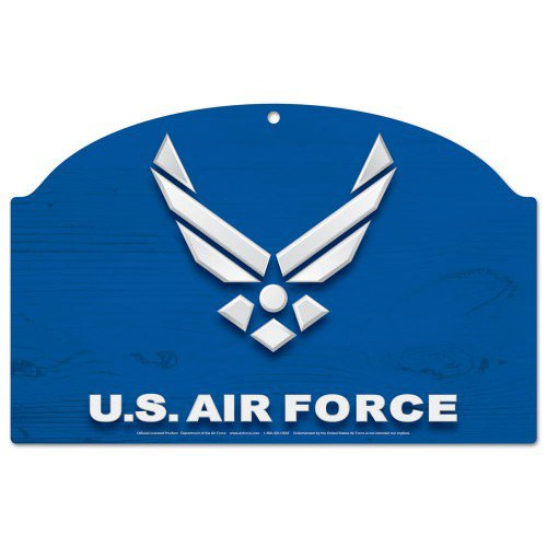 WinCraft United States Military U.S. Air Force Wood Sign 11