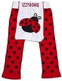 Izzy & Owie Baby Girl Leggings Ladybug, 12-24 Month