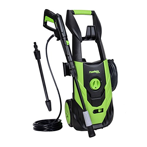 Tank Spray Nozzles - PowRyte Elite 2100 PSI 1.8 GPM Electric Pressure Washer, Power Washer with Adjustable Spray Nozzle, Extra Turbo Nozzle, Onboard Detergent Tank (Certified Refurbished)