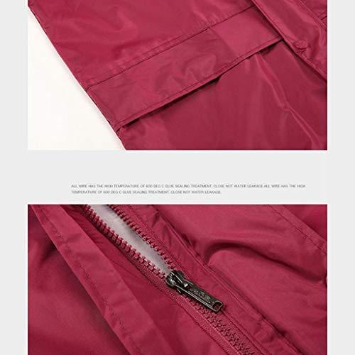 cyclisme air Sports pantalons pluie respirant Vestes pour S plein de de le taille de Combinaison imperméable unisexe randonnée pluie wzxq18Fz7