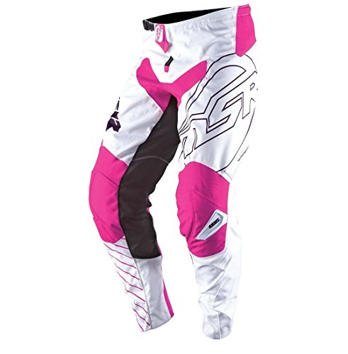 Msr Youth Axxis Pants - MSR Axxis Youth Pants, Distinct Name: White/Navy/Pink, Gender: Boys, Primary Color: Pink, Size: 22, Size Segment: Youth