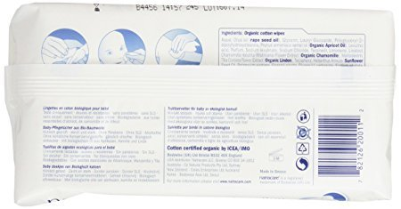 Amazon.com : Natracare Organic Cotton Baby Wipes 50 ct (6-Pack) : Baby Wipe Refills : Baby