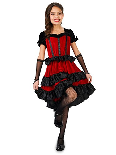 Can Can Dancer Child Costume M (8-10) ()