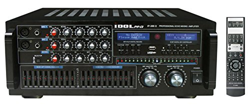 IDOLpro IP-388 II 1400W Professional Karaoke Mixing Amplifier