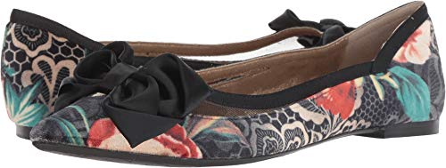 J. Renee Women's Allitson Black/Taupe/Coral Multi 9 for sale  Delivered anywhere in USA