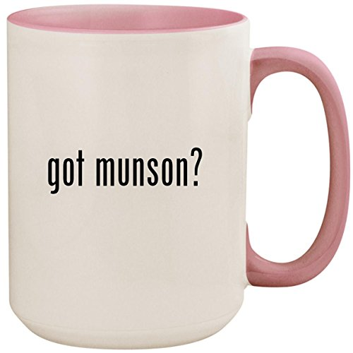 got munson? - 15oz Ceramic Colored Inside and Handle Coffee Mug Cup, ()