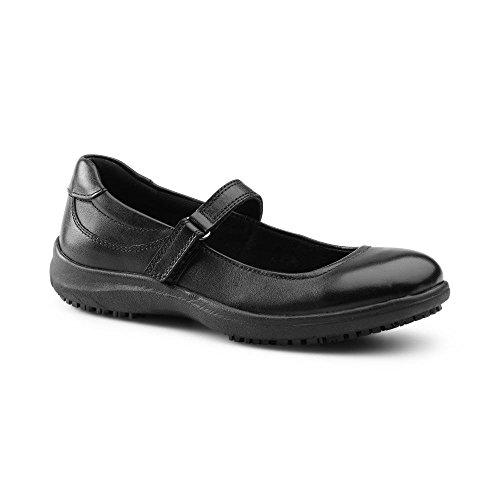 Keuka Suregrip Amelia Femmes Noires Mary Jane Chaussures 9.5m
