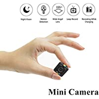 Mini Câmera Espiã Sq11, Full HD, 1080P, 2,3cm, Visão Noturna, Sensor De Movimento com Manual