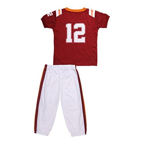 FAST ASLEEP Virginia Tech Uniform Pajama Set New (5T)