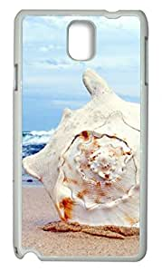Zenzzle Hard Skin Case for Samsung Galaxy Note 3 - Giant Seashell On The Beach