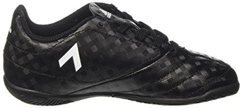 adidas Unisex-Kinder Ace 17.4 in J Futsalschuhe Schwarz (Cblack/ftwwht/cblack)