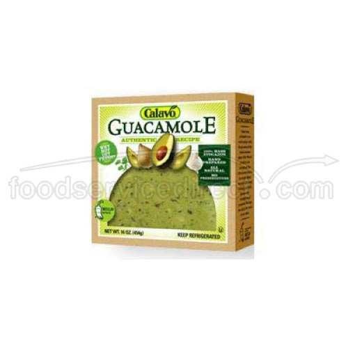 Calavo Western Style Guacamole, 1 Pound -- 12 per case.
