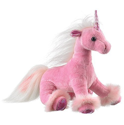 (Wildlife Artists Unicorn Plush Stuffed Toy, Pink)