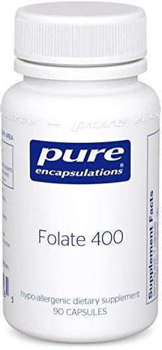 Pure Encapsulations Hypoallergenic Supplement Metafolin