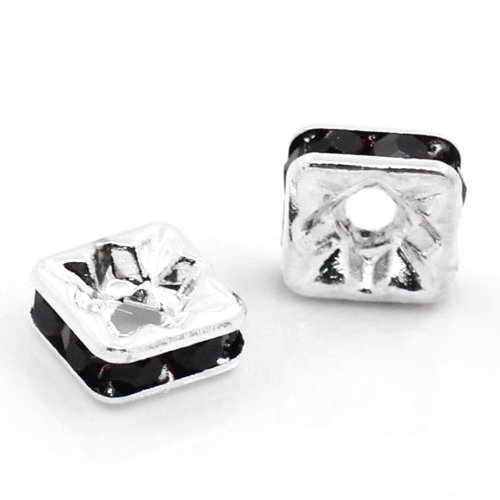Square Spacer Beads - 1