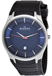Skagen Men's 955XLSRN Stainless Steel Blue Dial Watch