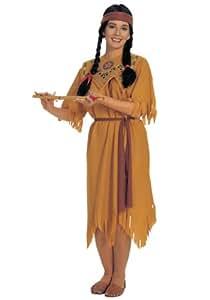 Rubbies - Disfraz de pocahontas para mujer, talla única (R15249/STD)