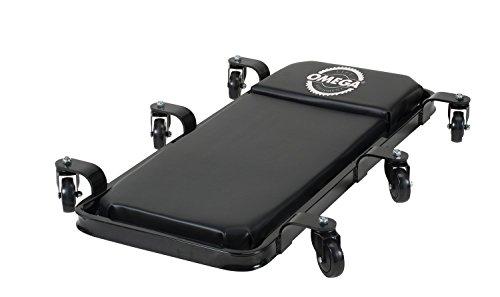 Omega 91400 Black Low Profile Creeper - 400 lbs. Capacity