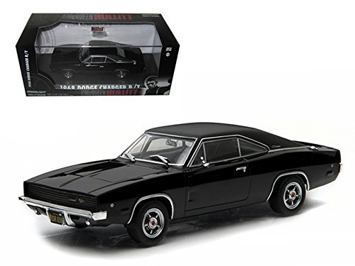 GreenLight Collectibles Hollywood Series 3 - Bullitt - 1968 Dodge Charger R/T Die Cast Vehicle (1:43 Scale)