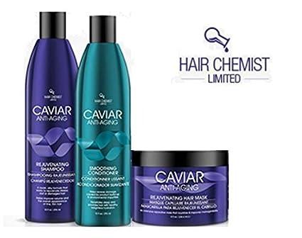 Pelo farmacia Caviar Combo: rejuvinating Champú 10 oz./285g + Acondicionador 10 Oz