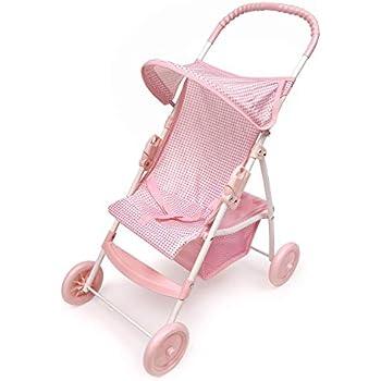 Amazon Com Hape Babydoll Stroller Toddler Wooden Doll