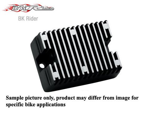 32 Amp Black Solid State Voltage Regulator for Harley 1994-03 XL OEM 74523-94 (C01089054) by Generic