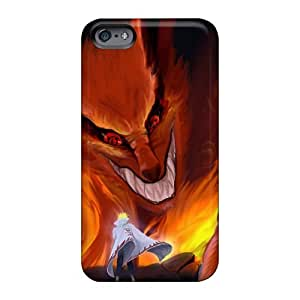 DeanHubley Apple Iphone 6 Plus Protective Hard Cell-phone Cases Allow Personal Design High-definition Naruto Shippuden Kyuubi Yondaime Minato Namikaze Image [JIR1814wQUI]