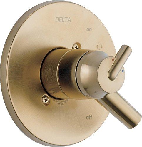 Delta Faucet T17059-CZ Trinsic, 17 Series MC Valve Trim, Champagne Bronze