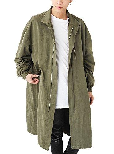(ベストマート) BestMart 背負えるコート お洒落 ショルダーループ付き スプリング ロングコート メンズ 623366