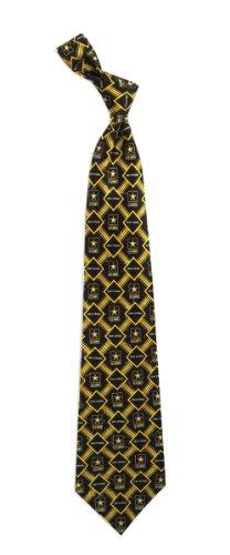 Silk Necktie Ties Logo (Men's Silk Black United States Army Logo & Army Strong Necktie Tie Neckwear)