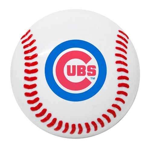 Baseball Memo Holder - MLB Chicago Cubs Baseball Magnetic Snack Clip & Memo Holder