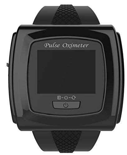 Bluetooth-enabled-50F-PLUS-OLED-Wrist-Color-Pulse-Oximeter-with-Innovo-SnugFit-probe-not-compatible-with-Mac