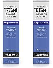 Neutrogena T/Gel Therapeutic Shampoo Original Formula, Anti-Dandruff Treatment for Lasting Relief of Itching Flaking Scalp as a Result of Psoriasis & Seborrheic Dermatitis