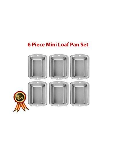 (Wilton Recipe Right 6 Piece Mini Loaf Pan Set)