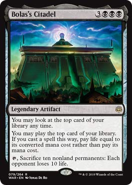 Magic: The Gathering - Bolas's Citadel - War of The Spark