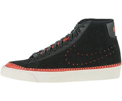 finest selection 14c3d 13056 Amazon.com Nike Blazer Mid Premium 09 ND - Black  Black-Hot Red-Light  Bone, 11.5 D US Shoes