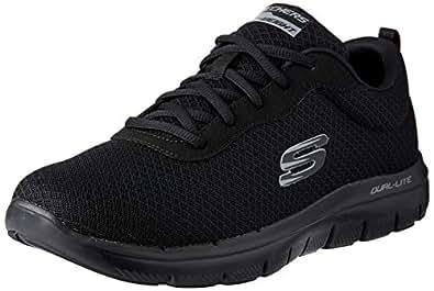 Skechers FLEX ADVANTAGE 2.0 - DAYSHOW Men's Training Shoe, Black/Black, 7 US