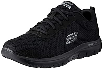 Skechers FLEX ADVANTAGE 2.0 - DAYSHOW Men's Training Shoe, Black/Black, 7 US