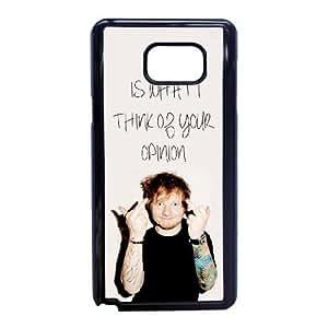 Ed Sheeran W7V7Xd Funda Samsung Galaxy Note caja del teléfono celular 5 Funda Negro D2S3YJ Teléfono Funda Caso único para chicos