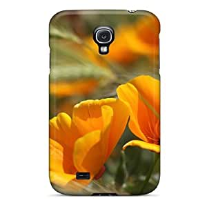 Galaxy S4 Case Slim [ultra Fit] Summer Flowers Protective Case Cover