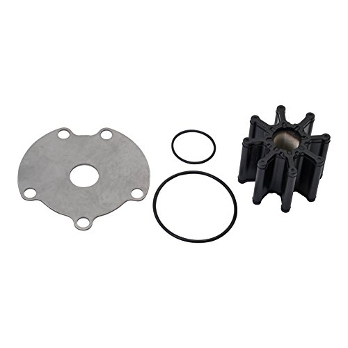 Sea O-ring Set - Quicksilver 59362T6 Sea Water Pump Impeller Replacement Kit - MerCruiser Engines with One-Piece Pump Body
