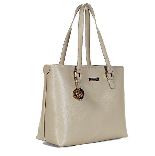 Versace-Collection-Womens-Fashion-Shopper-Bag-Beige-Leather-LBFS375-LVSS